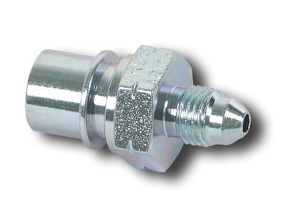 3AN to 1//8 NPT Adapter Earls 962203 Steel 90-degree Elbow Male