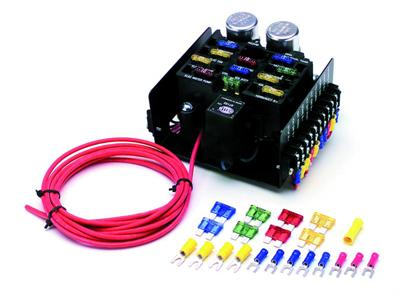 street legal race car fuse block p50101 at the chassis shop rh secure chassisshop com race car fuse box Car Fuse Box Replacement