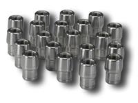 (20) TUBE ADAPTER 3/8-24 LH FITS 5/8 X 0.058 TUBE
