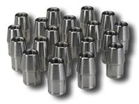 (20) TUBE ADAPTER 1/2-20 LH FITS 1 X 0.065 TUBE