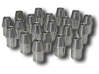 (20) TUBE ADAPTER 7/16-20 LH FITS 1 X 0.083 TUBE