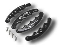 C42-493 - BLACK BUTTERFLY WHEEL GRIPS